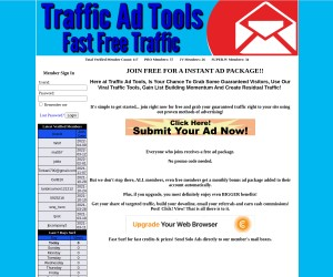 Use Our Viral Traffic Tools, Gain List Building Momentum And Create Residual Traffic!