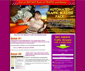 Get 300,000+ Ad Credits In Our New Auto Traffic-Blaster System