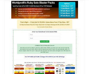 [ 5 Solo Ad Blasts To Over 135,000 ] Promote Affiliate Links - Send ANYTIME - ($37 ONE Time Cost)