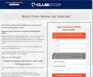 Work part time or full time, through the internet!