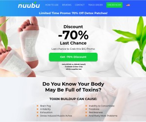 Fight against your body impurities with nuubu cleansing patch