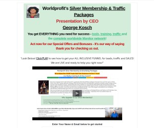Worldprofit's Money Building Empire System - Earn Income Online Working From Home.
