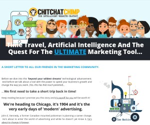 ChitChatChimp - The Intelligent Website Chatbot
