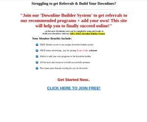 FREE Lifetime Access to Virtual Downline Builder | Make Unlimited Residual Income