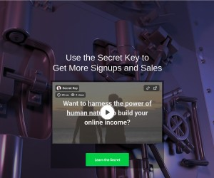 The Secret Key to Unlock Signups and Sales