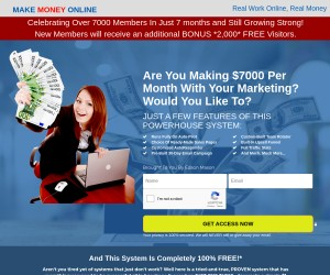 Can 1 Dollar Really Get You 7K Every Month?