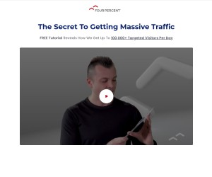 [FREE GIFT] The Secret To Getting Massive Traffic - Retail Price: $1,497 Your Price Today: FREE!