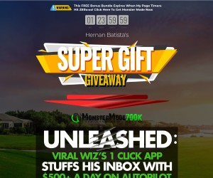 Super Gift Giveaway Bonus with MonsterMode700k