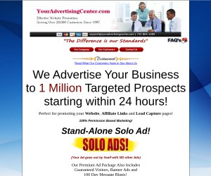 see sample ad for your biz