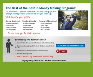 The Best of the Best in Money Making Programs!