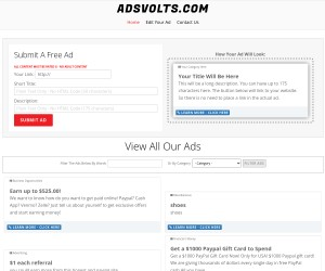 Free To Post Ads Anytime on our Classified Ad Site - Promote Your OFFER and bring Traffic & Leads