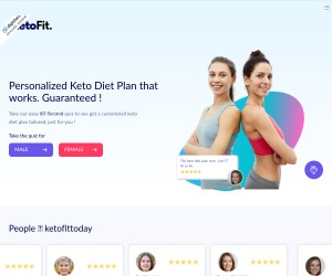 KetoFitToday - Personalized Diet And Workout Plan