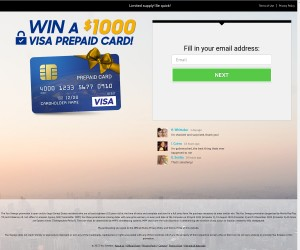 Win a $1000 Prepaid Visa Card! (US Only)