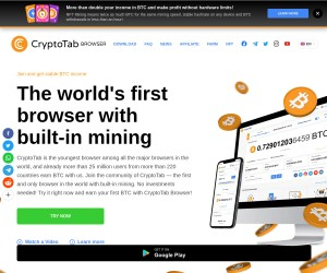 CryptoTab Browser | Steady Stream of Free Bitcoin