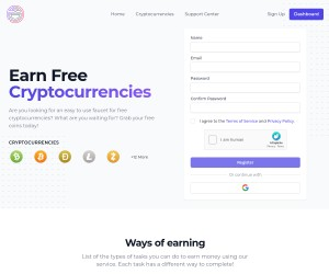 FAUCET CRYPTO - Earn Free Cryptocurrencies for Free, Always