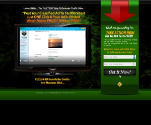 [Video Proof] Post YOUR Website To Over 16,000 Classified Ad Sites F-R-E-E