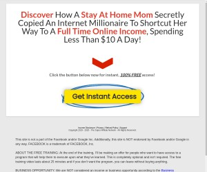 Discover How A Stay At Home Mom Secretly Copied An Internet Millionaire Shortcut!