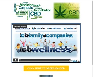 iZeeCBD has developed nutraceuticals for specific health and wellness