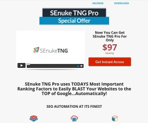 Want $20 Off The Price Of SEnuke TNG Pro???