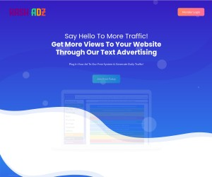 Kash Adz is a Free to use Mobile friendly Text Ad platform