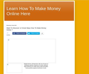 Really Like Access To 12 Great Ways How To Make Money Online Now!