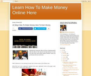 16 Ways How To Make Money Here To Earn Money
