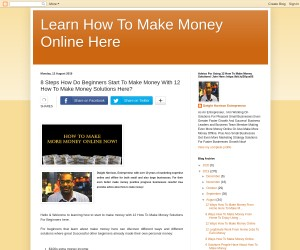 8 Steps Beginners To Start To Make Money With 12 How To Make Money Solutions Here