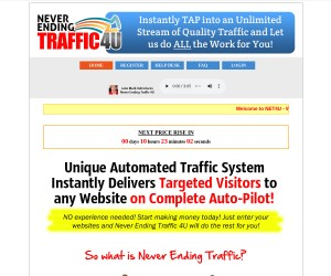 Never Ending Traffic for ANY Website Done for You...