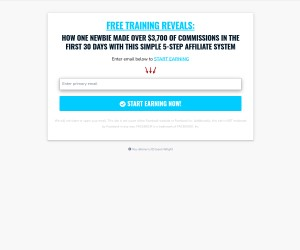 Massive Free Traffic plus daily commissions