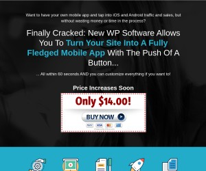 Make Your App - Create killer iPhone and Android apps in minutes