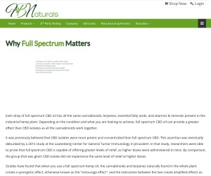 Why Full Spectrum Matters