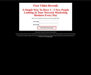 Free Video Reveals A Simple Way to have 3 -5 New People looking at Your Offer Daily!