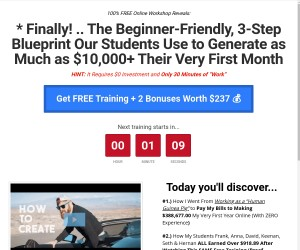 FREE TRAINING:   How to Earn a 7-Figure Side-Income Online