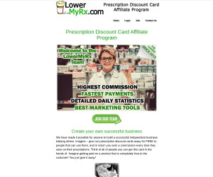 Start your Own Business LowerMyRX Discount Card FREE