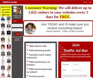 We will deliver up to 1,022 visitors to your websites every 3 days for FREE