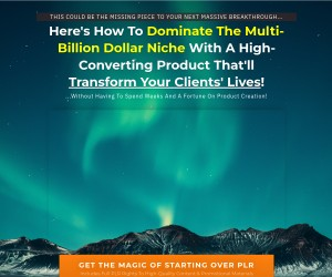 Here's How To Dominate The Multi-Billion Dollar Niche With A High-Converting Product!