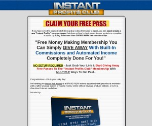 FREE MONEY MAKING MEMBERSHIP...