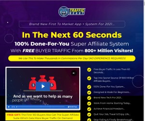 Traffic Beast : Total Revolution || Complete Paradigm Shift In Leads Generation
