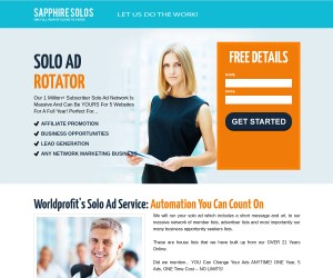 [ Run Your 5 Solo Ads For ONE Full Year ] Promote Affiliate Links - Change ANYTIME.