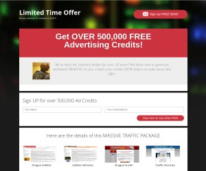 [Get OVER 500,000 FREE Advertising Credits