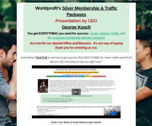 GOLD Banner Rotator - Traffic To 5 Sites For ONE Full Year