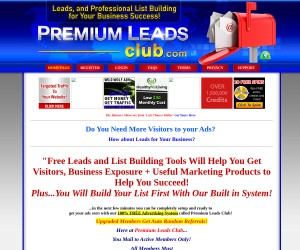 F-R-E-E Viral advertising system. Free Fresh leads, every month to every member.