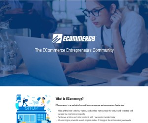 ECOMMERGY! The ECommerce Entrepreneurs Community