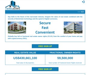 TwnklEstate is revolutionizing real estate transactions!
