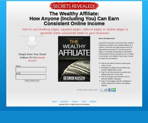 [The Wealthy Affiliate]: How Anyone (Including You) Can Earn Consistent Online Income (Over 100 Page