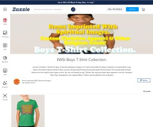Custom Imprinted T-Shirts For Boys!