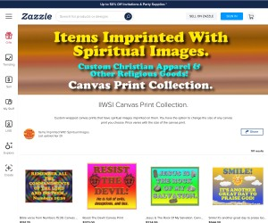 Custom Spiritual Canvas Prints!