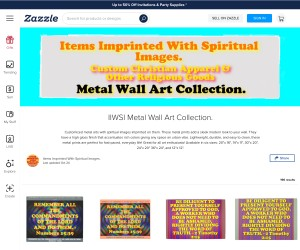 Custom Spiritual Metal Wall Arts!