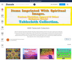 Customizable Spiritual Image Tablecloths For You!