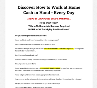 Work At Home Online Jobs - Work From Home